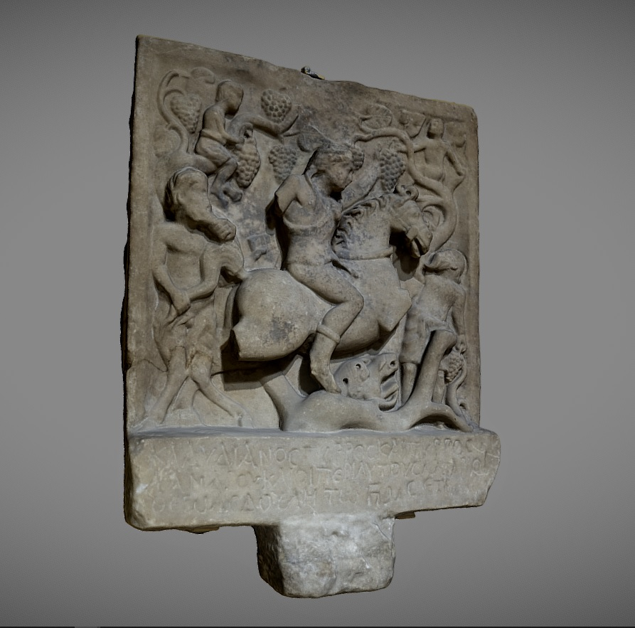 Thracian votive bas relief preview image 1