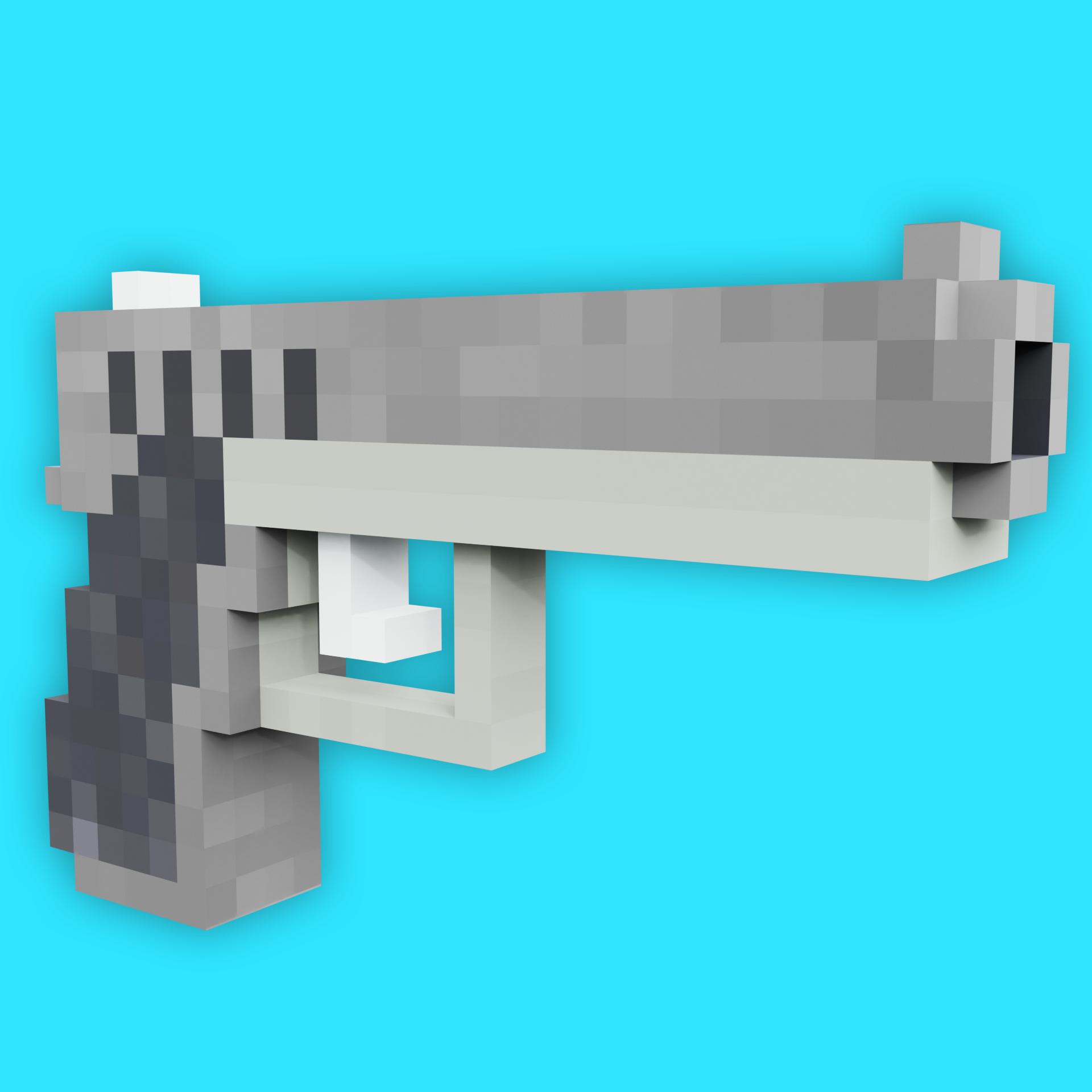 Minecraft Pistol preview image 1