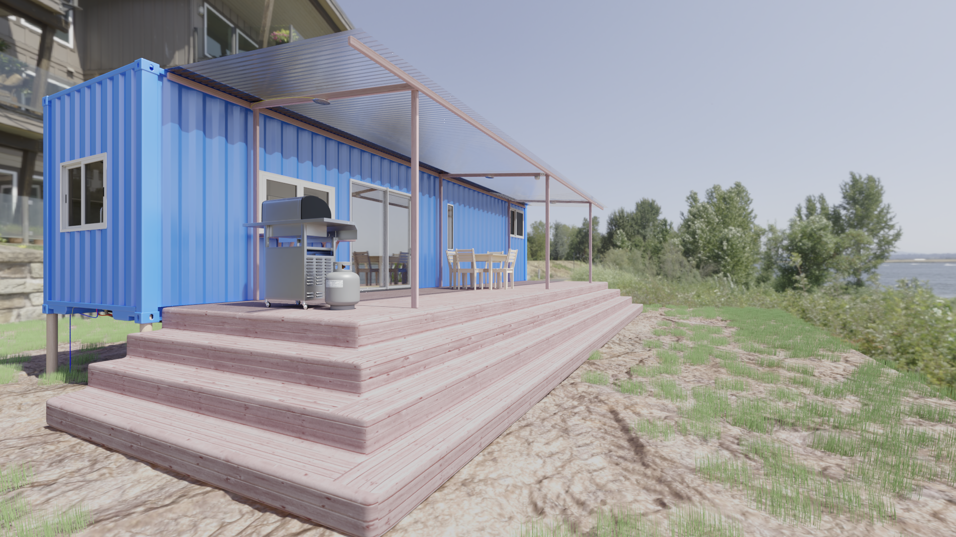 Shipping Container House preview image 1