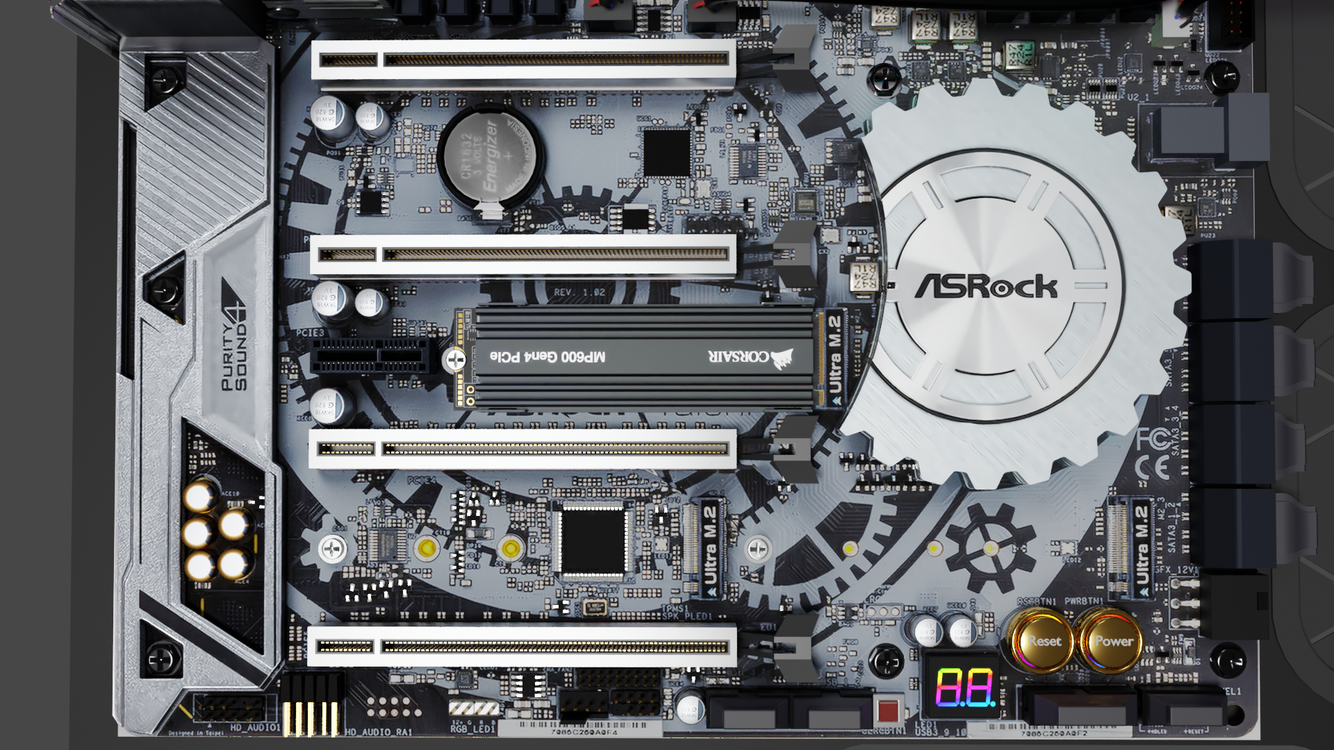 motherboard  X399 Taichi, the Beast ..... ( computer part ) preview image 5