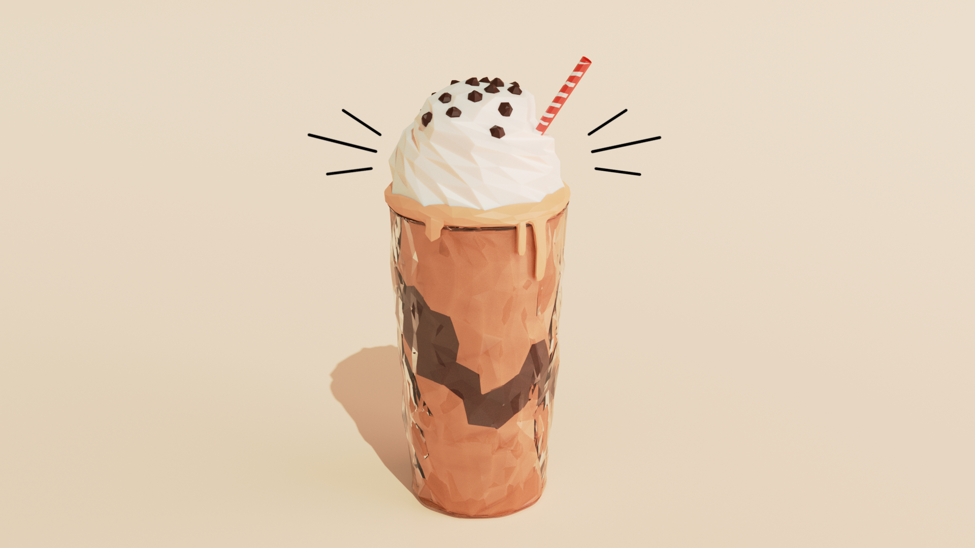 Low Poly Coffee preview image 4