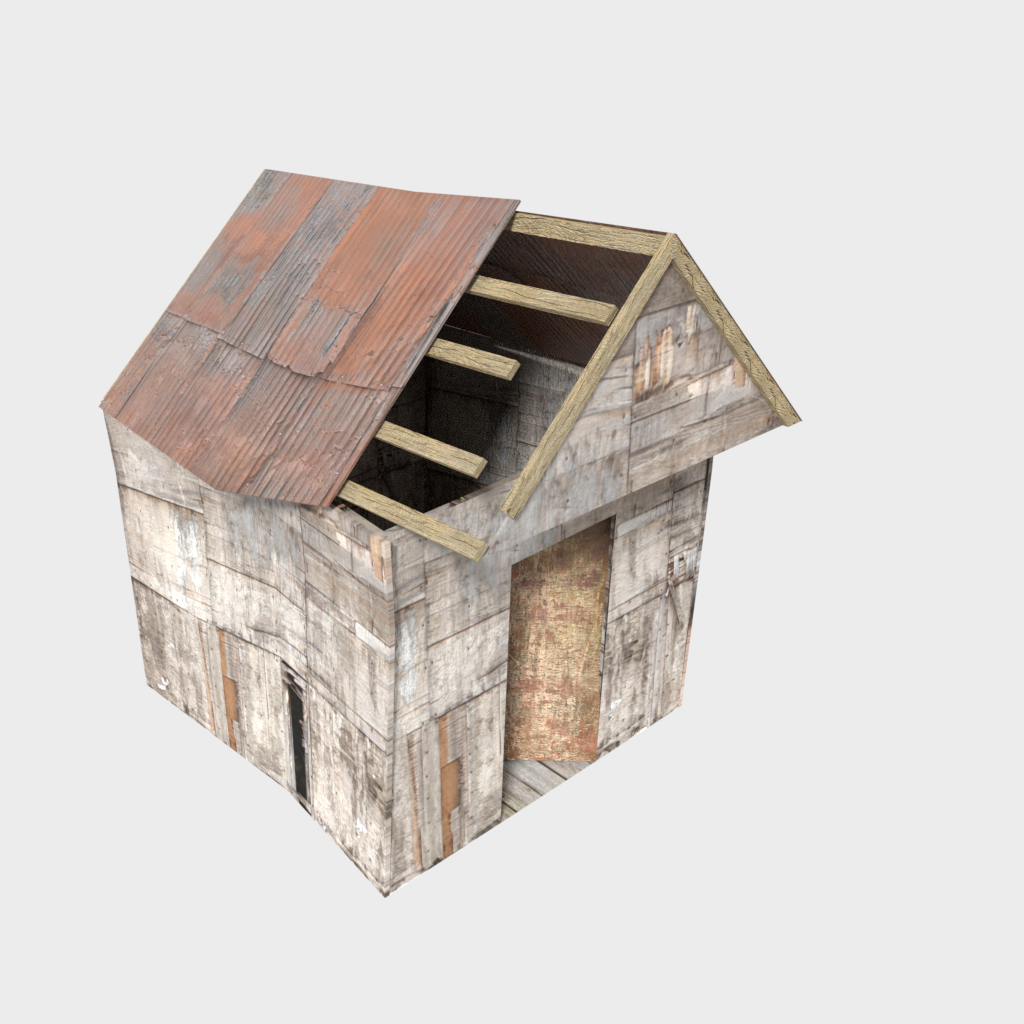 Deteriorated shed preview image 1