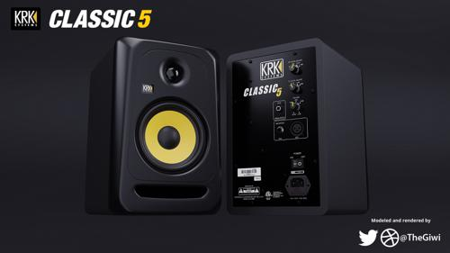 KRK Classic 5 Studio Monitor Speakers preview image