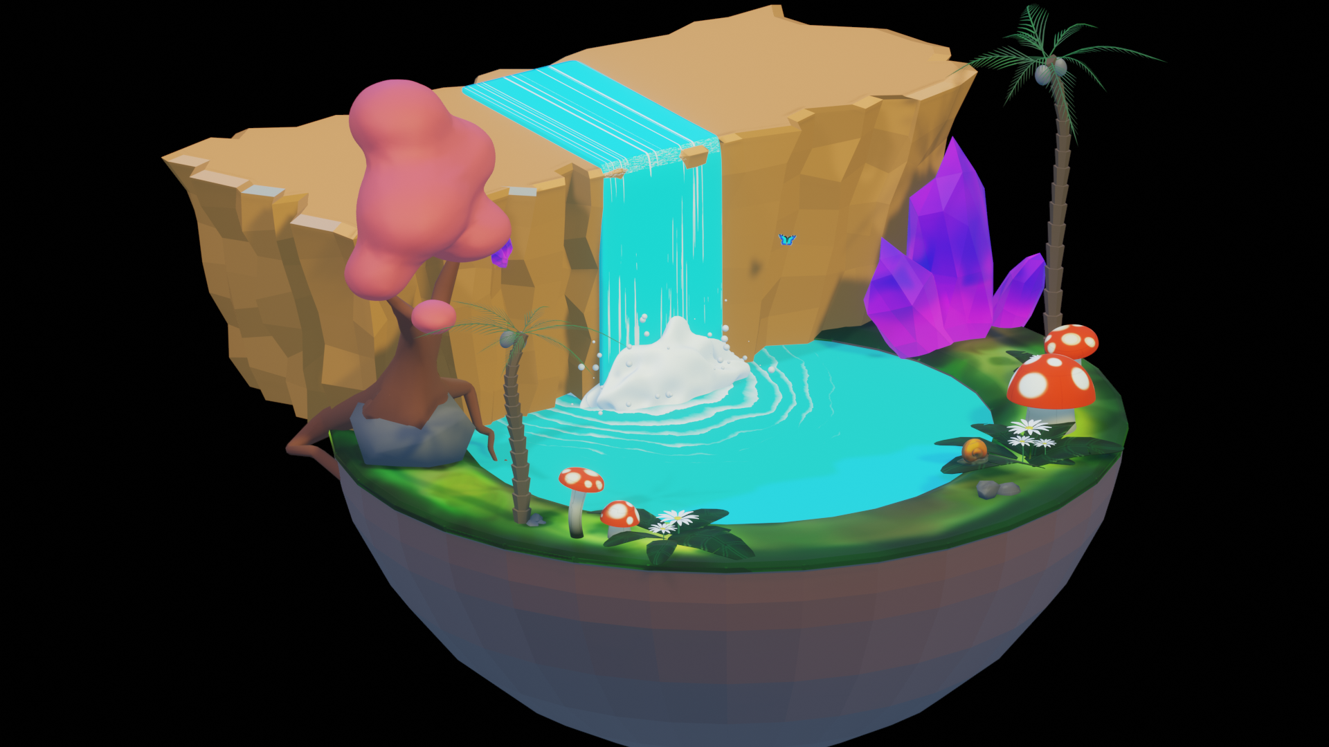 Hidden Waterfall preview image 2