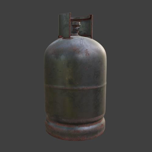 Rusty propane tank preview image
