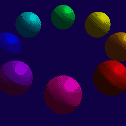 Color Separated Dithering Renderer preview image