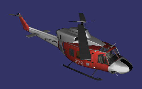 Bell UH-1N Twin Huey preview image