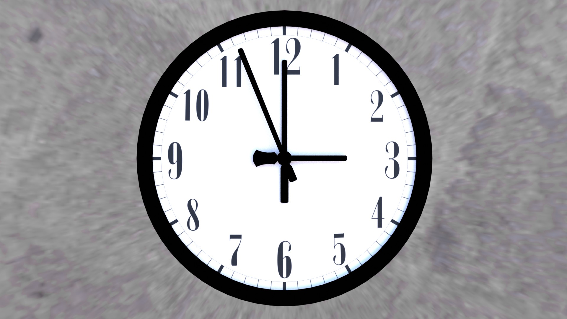 Basic Analogue Clock (With Hands) preview image 1