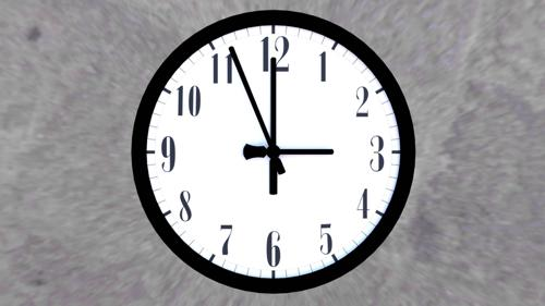 Basic Analogue Clock (With Hands) preview image