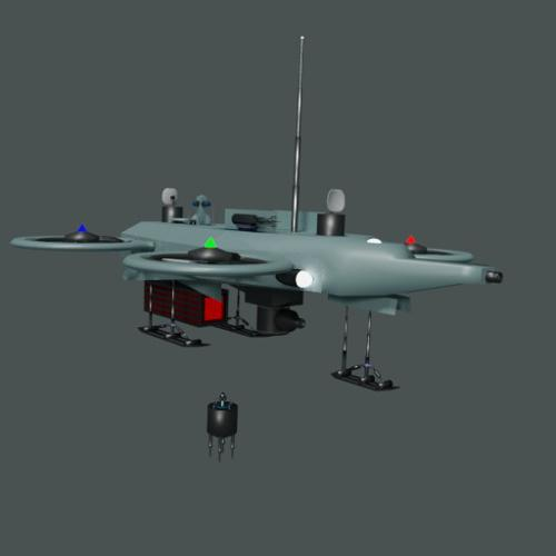 Sensor drone preview image