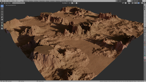 Fully Procedural Landscape #2 preview image