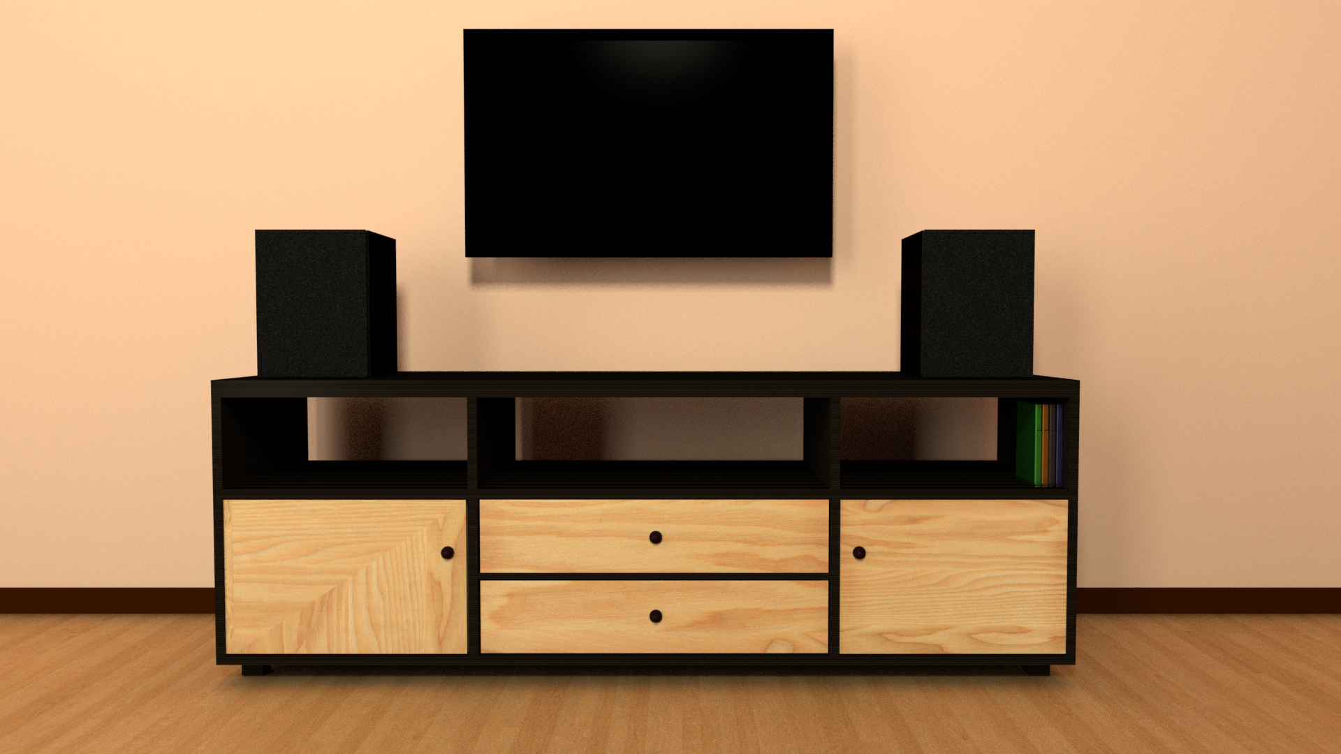 TV rack preview image 1