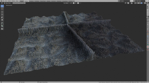 Fully Procedural Landscape #3 preview image