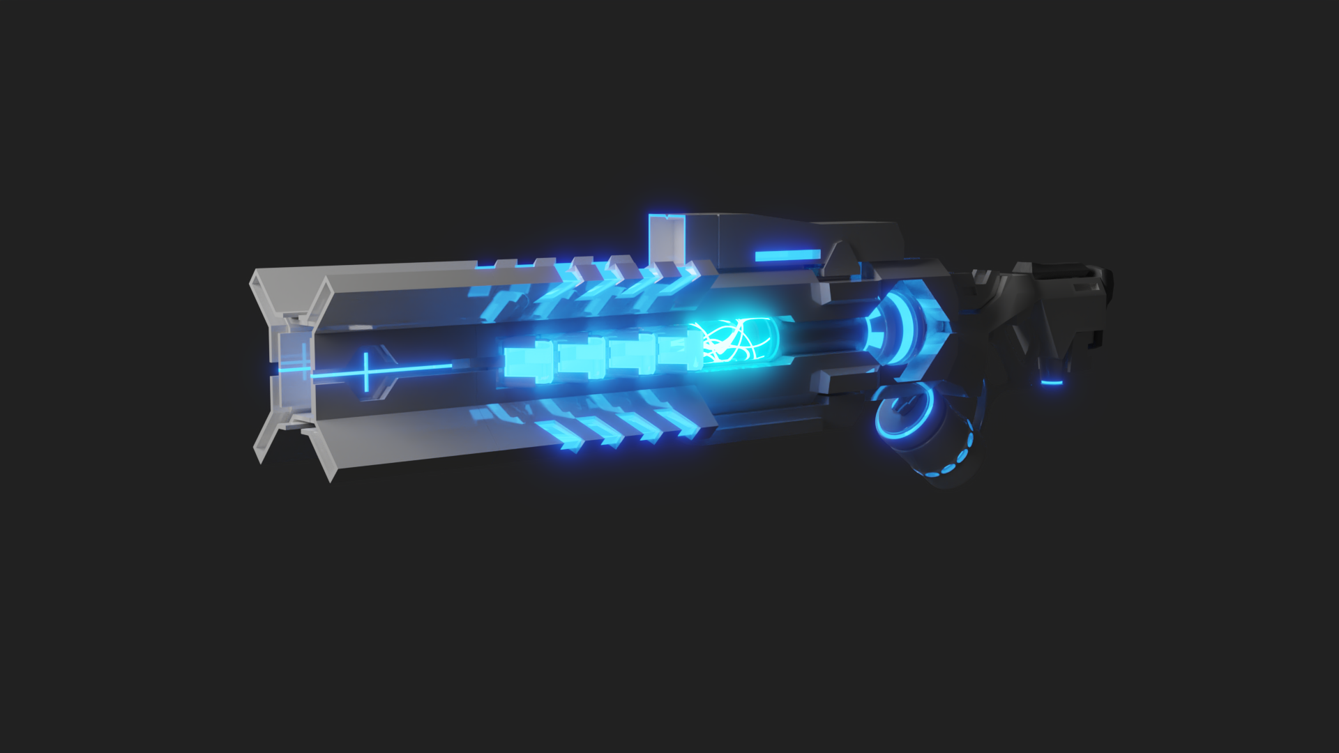 Sci-Fi Energy Gun preview image 1