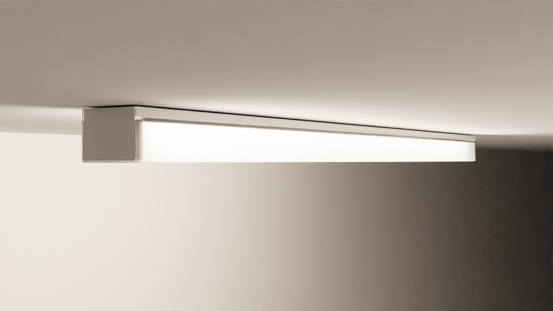Fluorescent Strip Light preview image 1