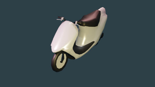 Scooter 50 cc (LOW-POLY) preview image