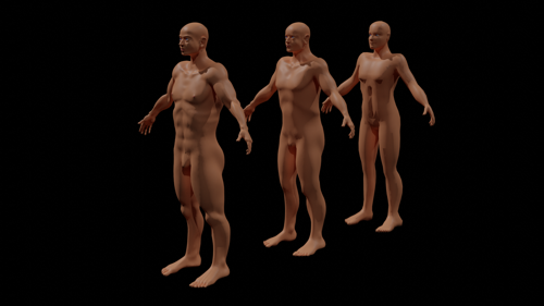 Male Base Mesh preview image