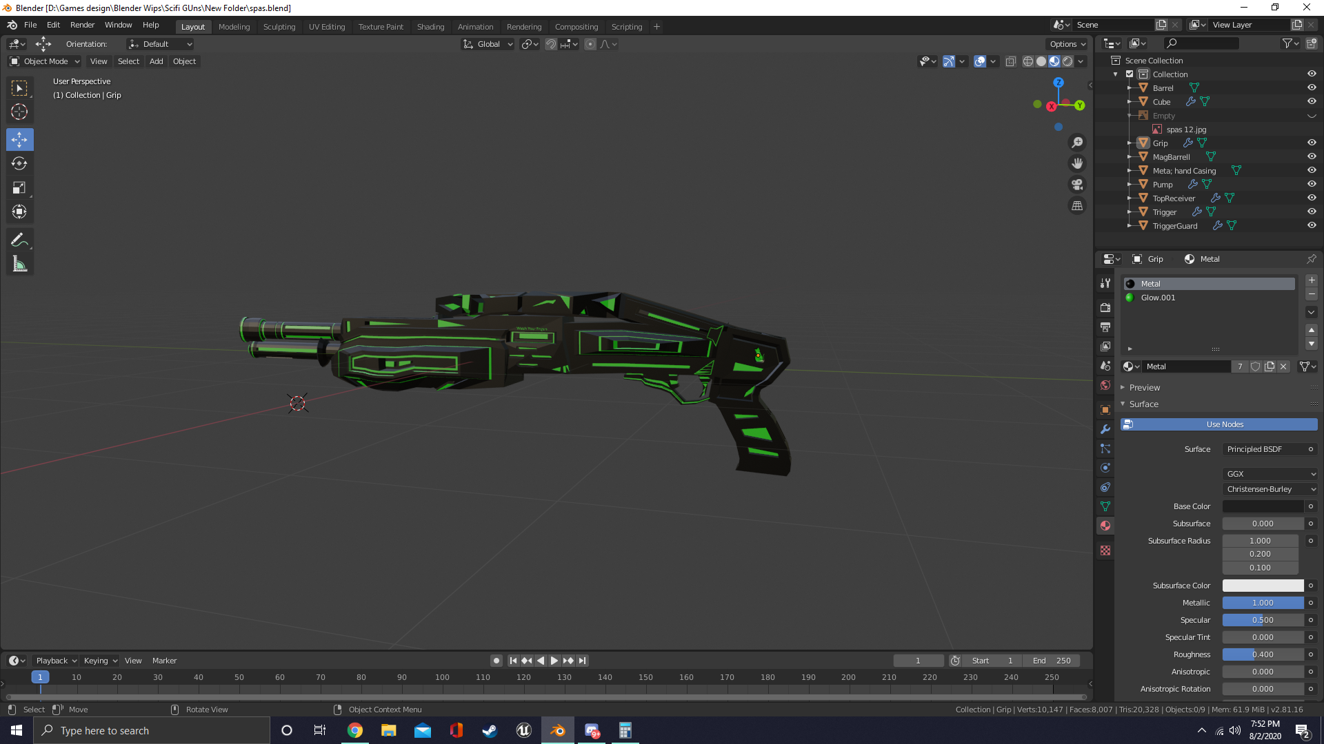 Sci-fi Spas-12 preview image 1
