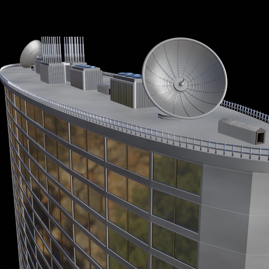 High-rise building (no textures needed) in EEVEE preview image 3