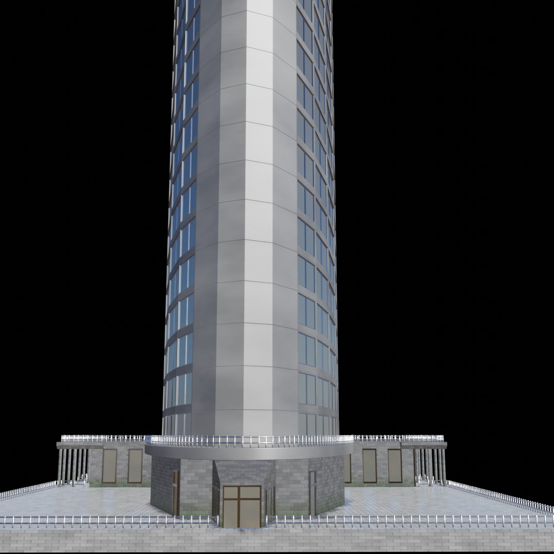 High-rise building (no textures needed) in EEVEE preview image 4
