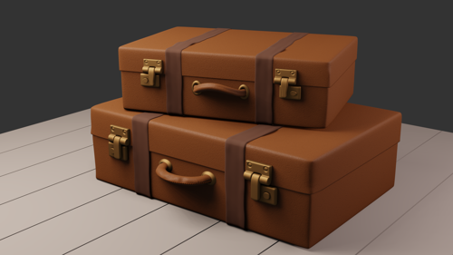 Old style suitcase preview image