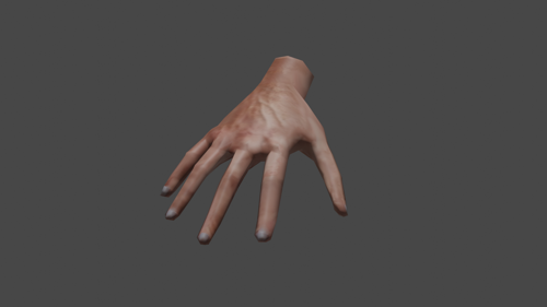 Basic Hand (LOW-POLY) preview image
