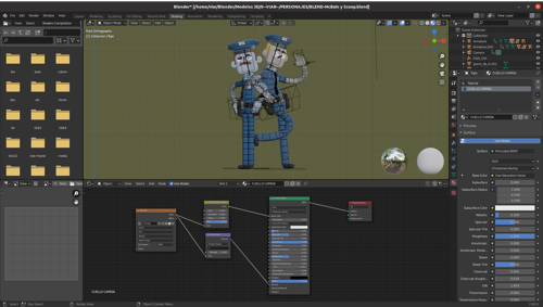 McBain - Toy Rigged preview image