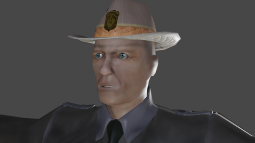 PARK RANGER (MID-POLY)  preview image