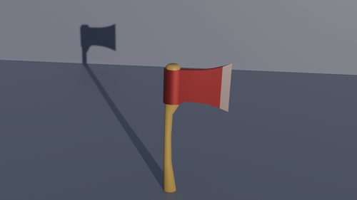 Low Poly Axe preview image