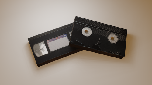 Low Poly VHS preview image