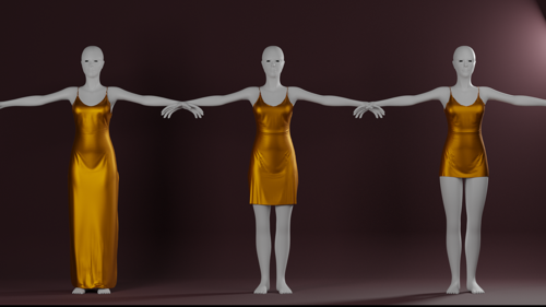 Gold Dresses preview image