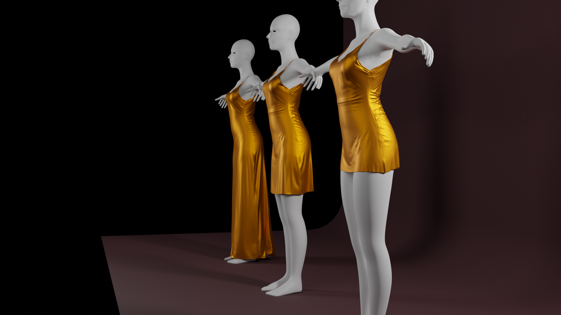 Gold Dresses preview image 2