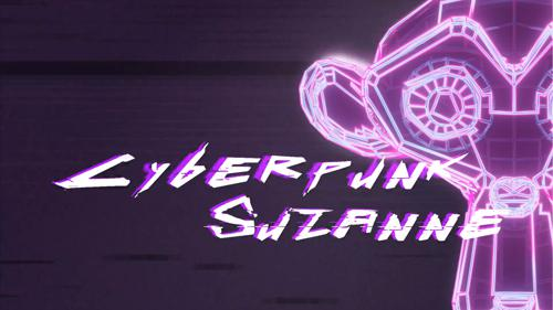 Cyberpunk Suzanne preview image