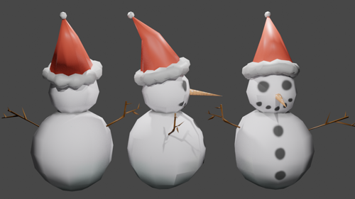 2-Ball Snowman preview image