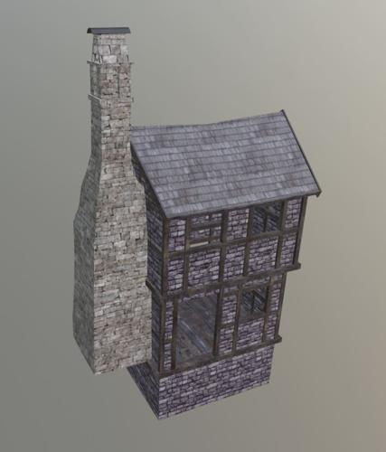 Medieval Small House Interior preview image