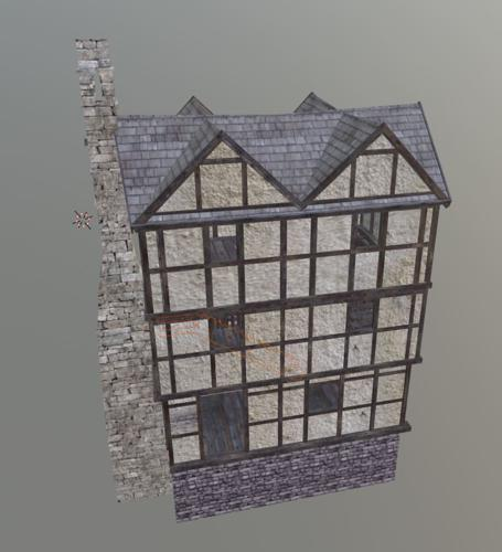 Medieval Medium House Interior preview image