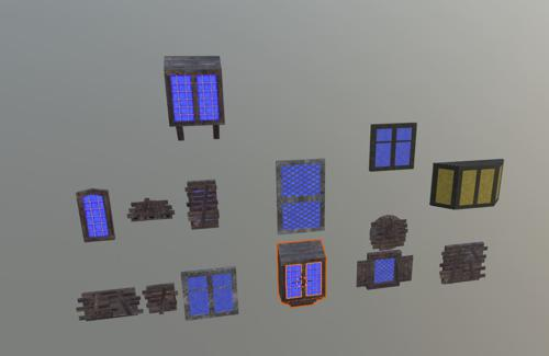 Medieval Windows Interiors preview image
