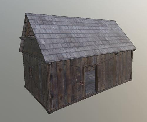 Medieval Shack preview image