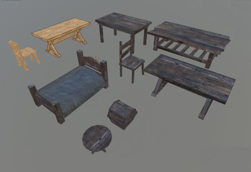 Medieval Furniture preview image