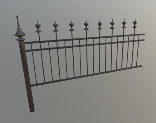 Medieval Fence preview image