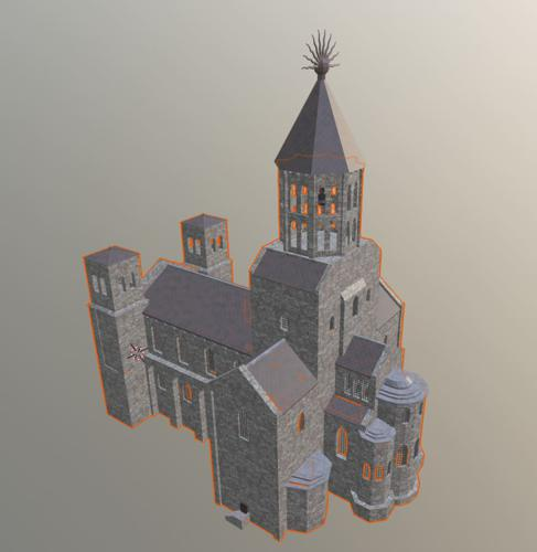 Medieval Church Interior preview image