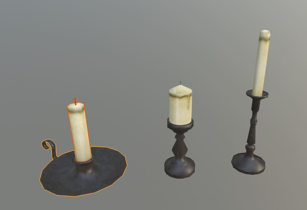 Medieval Candles preview image 1