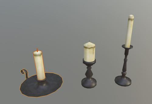 Medieval Candles preview image