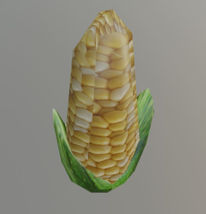 Low Poly Corn preview image 1