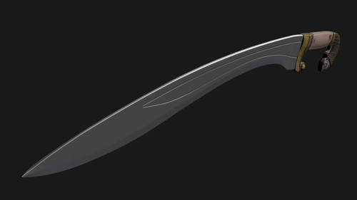 Falcata sword preview image