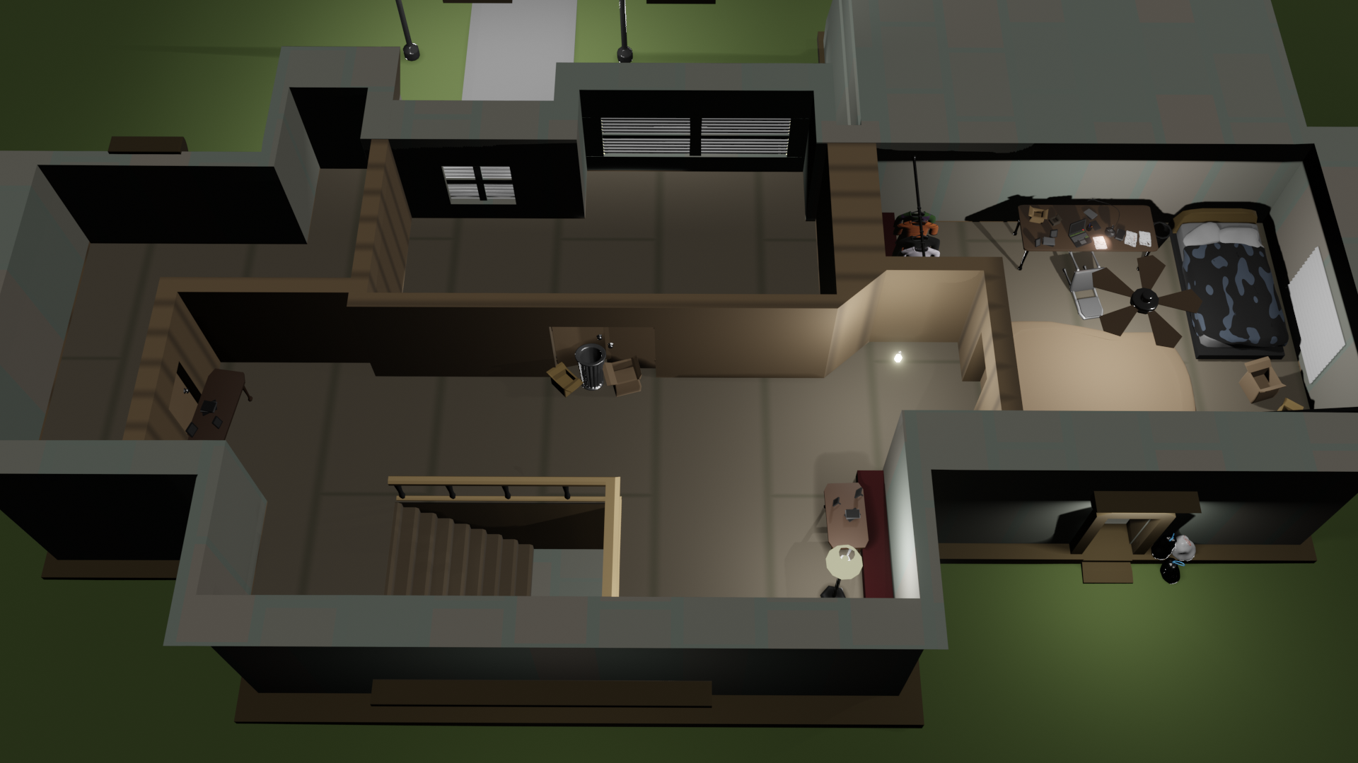 2-Floor Modular/Customizable House preview image 2