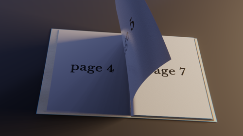 Rigged book preview image