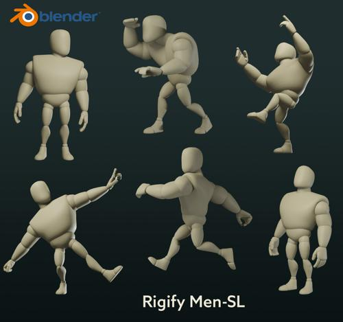 "Rigify  ""Mr. SL"" preview image"