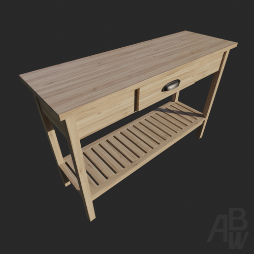 Llipaugh Console Table preview image