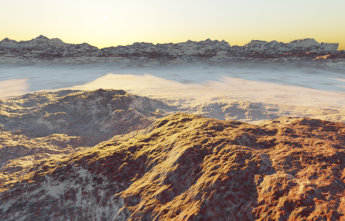 Procedural Cycles Landscape preview image